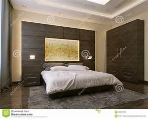 style moderne de chambre a coucher illustration stock With style chambre a coucher