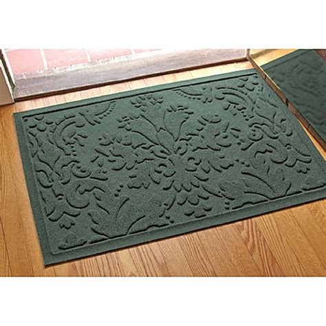weather guard mats weather guard damask 23 inch x 35 inch door mat bed