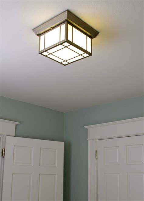 small bedroom light craftsman ceiling lighting