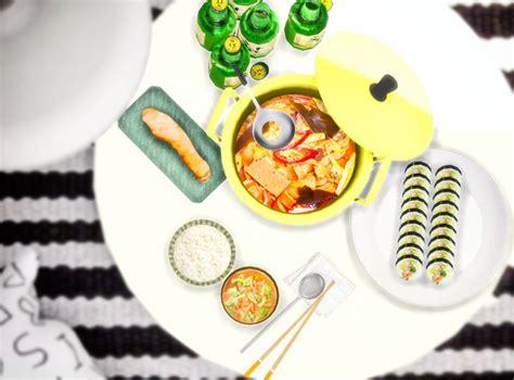 Minc7878 Cherry Sims Korean Food Stew And Poponopun