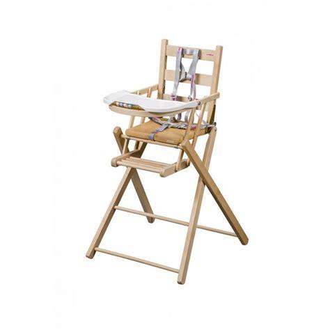 chaise haute b b bois chaise haute bois pliante mzaol com