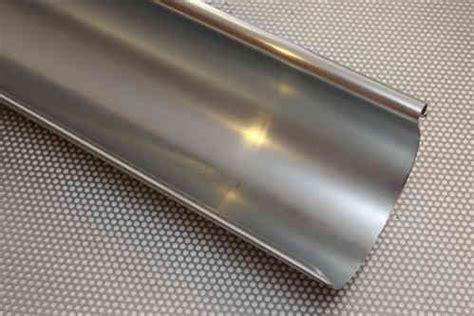 zink dachrinne preise dachrinnen fallrohr bleche in kupfer titanzink aluminium