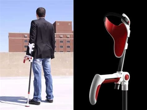 creative crutch concepts artistic ergonomic