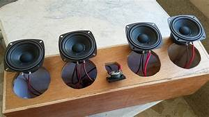 Diy Center Speaker  2 Way Crossover Build And 4 Speaker