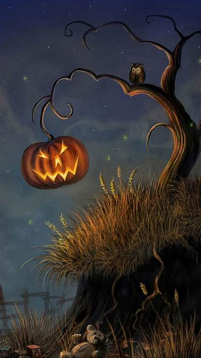 Halloween Iphone Scary Wallpapers Happy Stuff