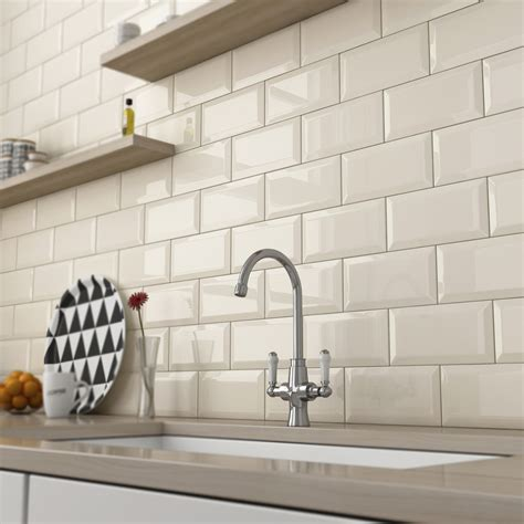 kitchen wall tiles metro white 10x20 tile 6669