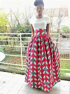 Pagné De Basket : jupe longue en wax pagne africain jupe par pagnshopea fashion pagneuse en 2018 ~ Teatrodelosmanantiales.com Idées de Décoration