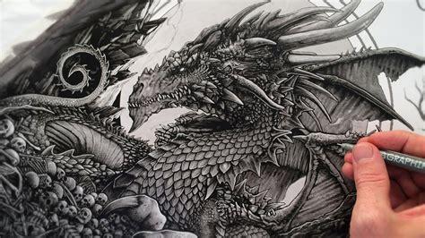 drawing  dragon youtube