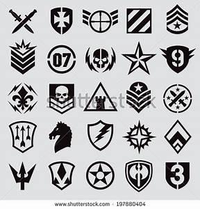 Vector Download » Military symbol icons | emblem ...