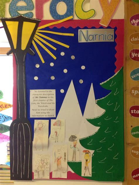 narnia themed guided reading board loving reading