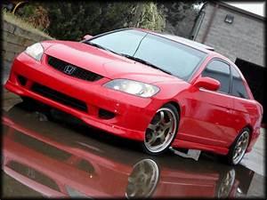 Frontlip For Honda Civic  2004
