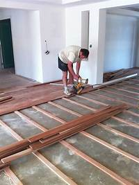 hardwood flooring over concrete Laying Wooden Floor On Concrete - Morespoons #f0f885a18d65
