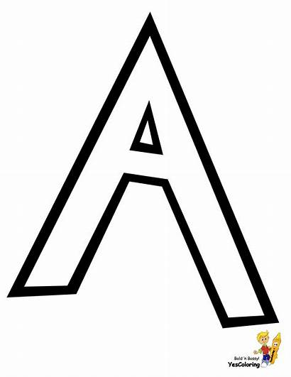 Alphabet Coloring Pages Preschool Pokemon Yescoloring Letters