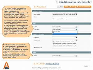 Product Label  Magento Extension By Amasty  User Guide