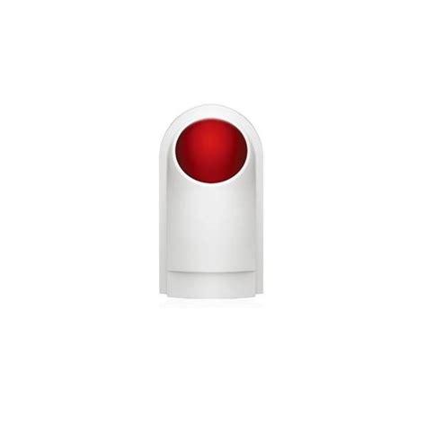 sirene alarme exterieure sans fil sir 232 ne ext 233 rieure ws108 sans fil 110 db avec flash pour alarmes at