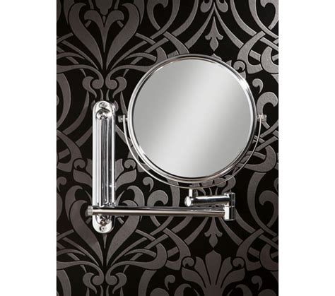 Sided Bathroom Mirror by Hib Tila Sided Extendable Magnifying Mirror 28200
