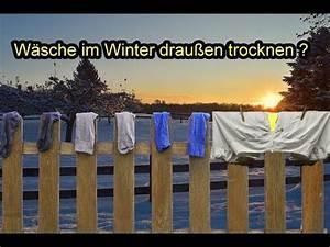 W sche im winter drau en trocknen w sche bei frost k lte for Wäsche im winter draußen trocknen