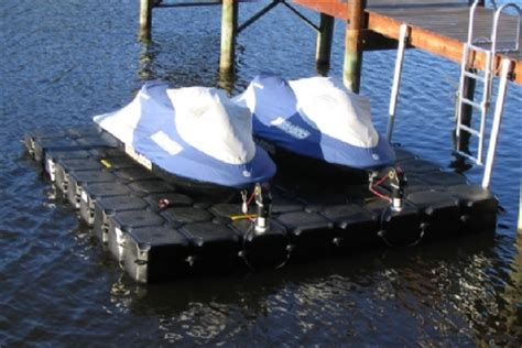 Sea Doo Jet Boat Floating Docks by Floating Jet Ski Dock Lifts For Jet Skis Seedoo