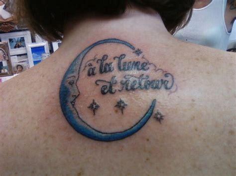 crescent moon tattoo  la lune  le soleil girl  tattoos   moon  tattoo