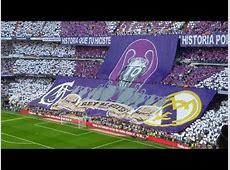 تيفو ريال مدريد ضد برشلونة Tifo Real Madrid vs
