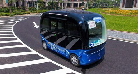 baidu s ai mobility vision buses this year cars and