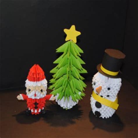 Origami 3d  Weihnachtsset  Origami 3d Einzigartige