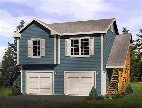 garage apartments for 2 car garage apartment 2241sl architectural designs