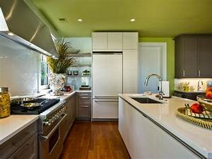 peinture cuisine avec meubles blancs 30 idees inspirantes With kitchen colors with white cabinets with cool truck stickers