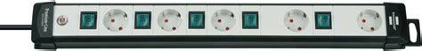 steckdosenleiste einzeln schaltbar steckdosenleisten f 252 r jede anwendung im vergleich qualit 228 t brennenstuhl 174