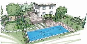 comment dessiner un jardin facile With dessiner un jardin en 3d