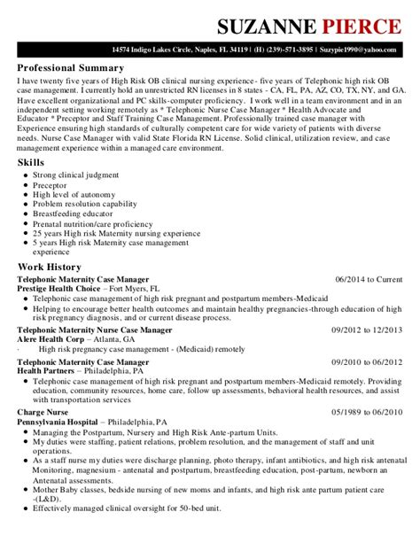 Maternity Resume by Suzanne Resume 1