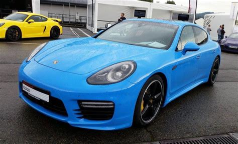 Porsche Panamera Exclusive Series Spotted In Blue