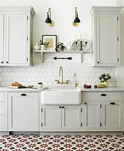 Cuisine Repeinte En Blanc : 1001 id es pour une cuisine relook e et modernis e ~ Melissatoandfro.com Idées de Décoration