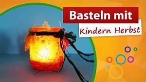 Basteln Mit Tannenzapfen Herbst : basteln mit kindern herbst windlicht selber machen trendmarkt24 youtube ~ Eleganceandgraceweddings.com Haus und Dekorationen
