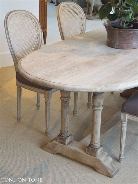 oval kitchen table with bench here is a 19th century belgian bleached oak dining