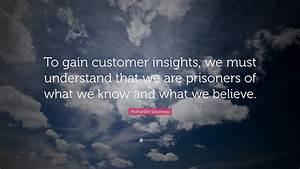 Mohanbir Sawhne... Customer Insights Quotes