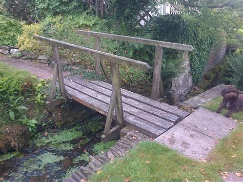 decorative wooden bridge the wooden workshop oakford