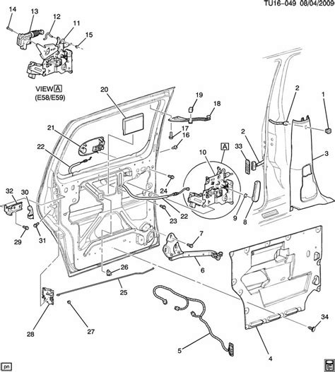 Saturn Door Diagram by 10324035 Saturn Actuator Kit Door Electric And Vacuum