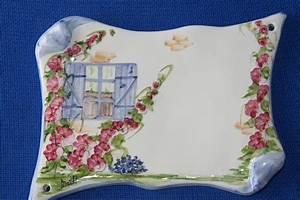 Plaque De Maison : poterie c ramique art de la table ma th plaque num ro de maison en c ramique ~ Teatrodelosmanantiales.com Idées de Décoration