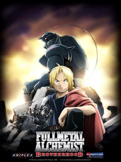fullmetal alchemist brotherhood tv series