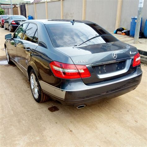 Any body work requested by the customer would be an additional cost. Clean Toks Mercedes Benz E350 4matic(blue Efficiency)2010 Model - Autos - Nigeria