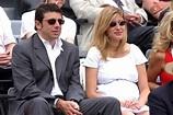 Patrick Bruel et Amanda Sthers, enceinte de leur 1er ...