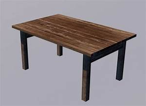 Table Free 3D Models download - Free3D
