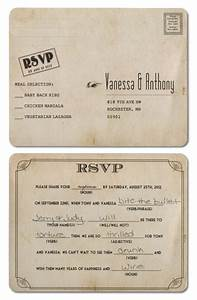 22 best images about wedding rsvp postcards on pinterest With wedding invitation rsvp facebook