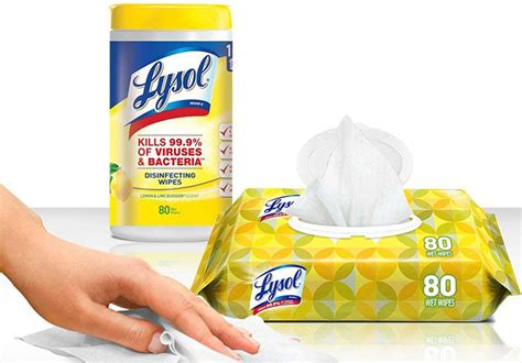 Lysol Disinfecting Wipes 320-Count Pack ONLY $10.07