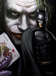 The Joker & Batman - The Dark Knight Fan Art (9483745 ...