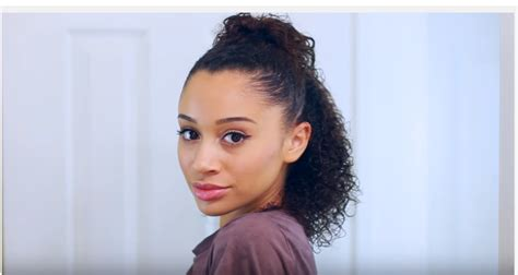 5 easy curly hairstyles for school the cutest looking curly hairstyles for around black