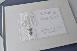 personalized guestbook 39 birds 39 orginal design ivory personalised wedding