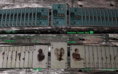 Caravan (israel), an israeli term referring to a portable building; Caravan and Casino FNV themed playing cards at Fallout New Vegas - mods and community