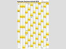 Feiertage 2019 SachsenAnhalt + Kalender